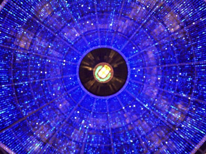 Glass roof, Galleria Vittorio Emanuele II, Milan.
