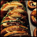 Pretzels, stuffed with delicious fillings!